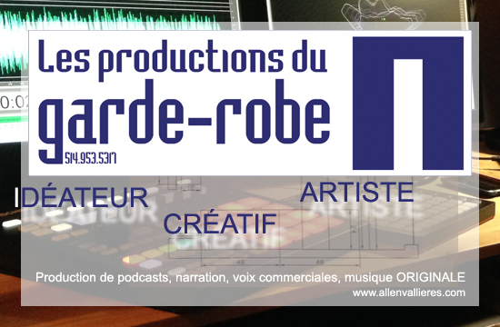 Logo Les productions du garde-robe