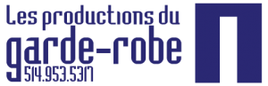 Logo Les productions du garde-robe.