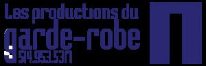 Logo Les productions du garde-robe.