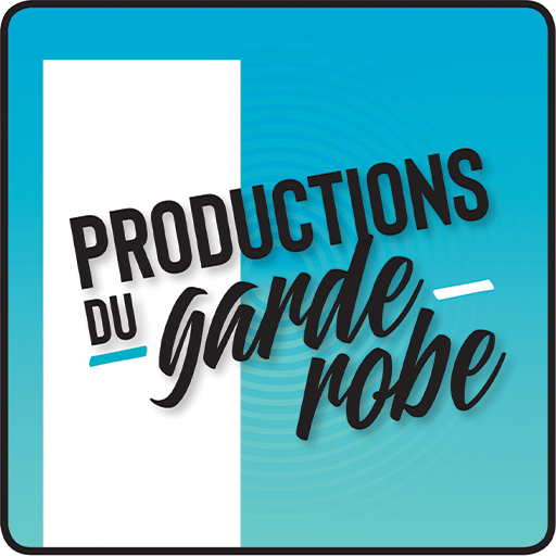 Productions du garde-robe logo.