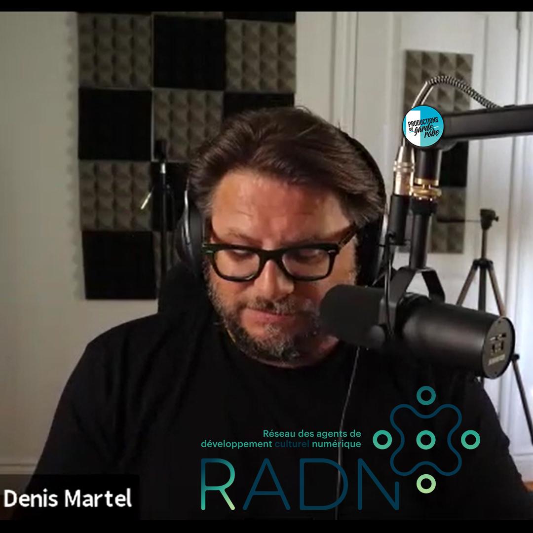 Denis Martel stratège marketing numérique.